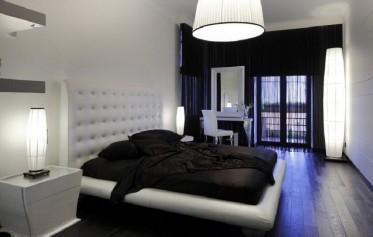 mattress-quilt-design-black-color-black-fur-rug-mu